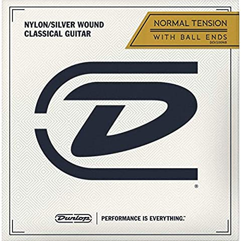 Dunlop Performance Nylon Ball End Classical Guitar Strings - Sale: $7.96 USD (14% off)
