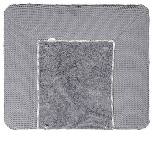 Koeka Wickelauflagenbezug Bonn Steel Grey 90x78