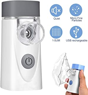 ネブライザーポータブルUSB充電式吸入器気化器機咳や子供向けの最高のネブライザー機