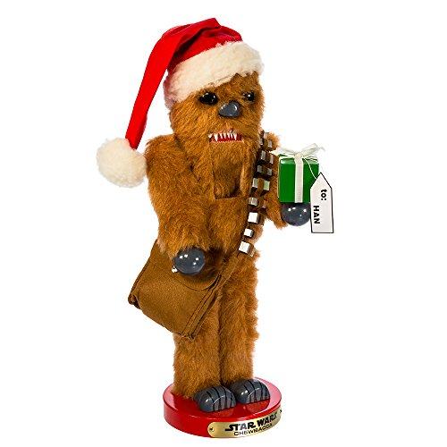 Kurt Adler Star Wars Chewbacca Steinbach Nussknacker Weihnachtsdekoration, STD, Mehrfarbig
