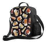 NE Premium Lunch Box,BEAR Insulated Lunch Bag For Men Women Adult,Office Work Picnic Hiking Beach Lunch Box