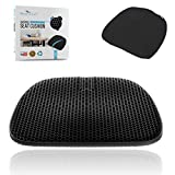 Relax-a-Lot SuperGel Seat Cushion | Large, Double Layer | Orthopedic Relief for Back and T...