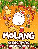 Molang Christmas Coloring Book: Stress-Relief Molang Christmas Coloring Books For Adults, Teenagers (8.5 X 11)