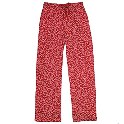 Harry Potter Spells All-Over-Print Men's Lounge Sleep Pajama Pants, Red (Large) from