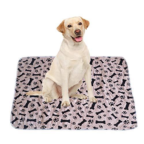 WPCASE Camas Colchon para Perros Cojin Perro para Perros Gato CojíN ColchóN Suave Y CáLido Estera del Amortiguador del PañO Grueso 31 * 35inch