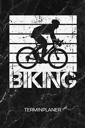 TERMINPLANER: Radfahrer Kalender Fahrradtour Terminkalender - Fahrrad Trikot Wochenplaner Retro Radsportler Wochenplanung Fahrrad Taschenkalender Rennrad To-Do Liste Termine