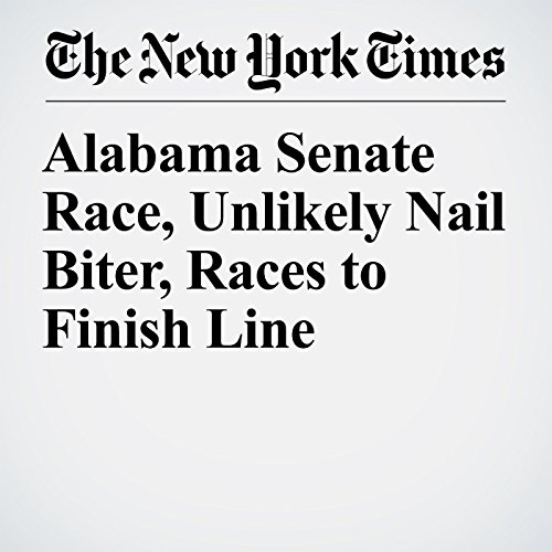 Alabama Senate Race, Unlikely Nail Biter, Races to Finish Line copertina