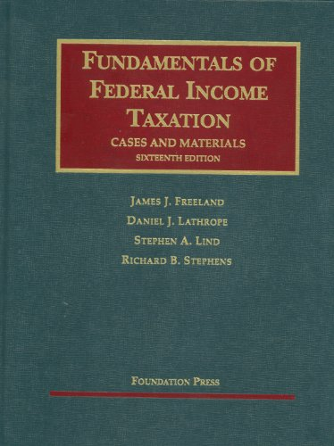 Fundamentals of Federal Income Taxation (University...