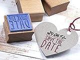 Stempel SAVE THE DATE Hochzeit, Feier, Einladung, DIY, Selbermachen, kreatives Gestalten,...