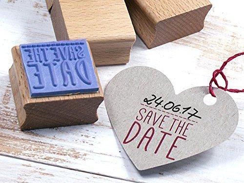 Stempel SAVE THE DATE Hochzeit, Feier, Einladung, DIY, Selbermachen, kreatives Gestalten, Papierdesign