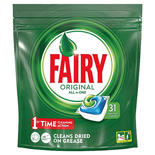 Fairy Original All in One Spülmaschinentabs, 31Stück Packung