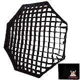 【Godox正規代理店】GODOX 80cm オクタゴン グリッド 80cmアンブレラ 八角形 ソフトボックス対応 スタジオストロボ撮影用(グリッドのみ)