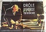 Funny der Ort für ein Treffen-Gérard Depardieu, 60 x 80