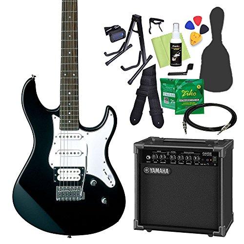 YAMAHA PACIFICA112V BL(ブラック) エレキギター初心者14点セット 【ヤマハアンプ付き】 ヤマハ