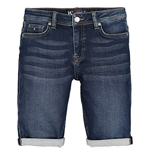 Kaporal Deco Short en Jeans, Exquam, 10 Ans Garçon