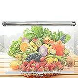 MAHFEI Persianas de plástico Transparente, Un gabinete a la Carta, Cortina de congelador con Tirador PE Vertical ciega A Prueba de Polvo para Verduras y protección contra Frutas.