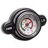 Tusk High Pressure Radiator Cap with Temperature Gauge 1.8 Bar - Fits: Honda...
