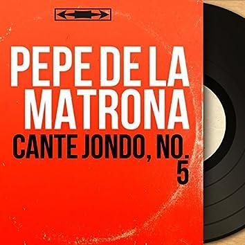 Cante Jondo, No. 5 (feat. Roman el Granaïo) [Mono Version]