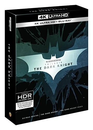 The Dark Knight - La Trilogie - Blu-Ray 4K + Blu-Ray