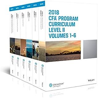 CFA Program Curriculum 2018 Level II Volumes 1-6 Box Set (CFA Curriculum 2018)