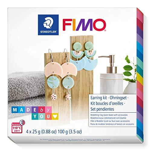 """STAEDTLER FIMO Soft DIY-Set """" Ohrringe"""" im pastelligen"""