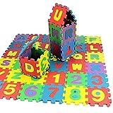 Search Babys und Kinder Spielmatte Lernmatte Kinderspielmatte Schaumstoffmatte Lernspielzeug Geschenk 36 Stück Puzzlematte