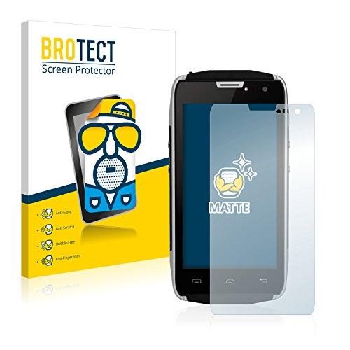 BROTECT 2X Entspiegelungs-Schutzfolie kompatibel mit Doogee Titans2 DG700 Bildschirmschutz-Folie Matt, Anti-Reflex, Anti-Fingerprint