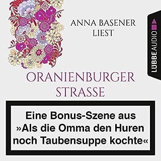 """Anna Basener liest """"Oranienburger Straße"""" Titelbild"""