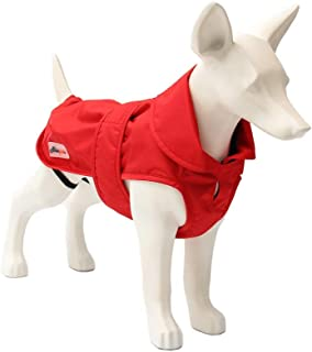 ASMPET Dog Jacket Warm Coats and Waterproof Jackets for Small, Medium and Large Dogs with Adjustable Magic Buckle to Fit Your Pet Dog