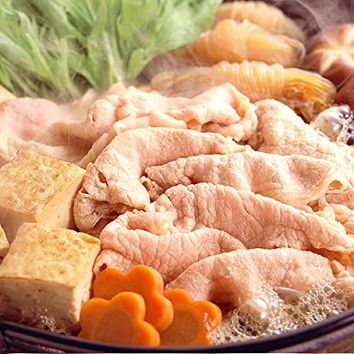 お中元 北海道産 豚肉 知床ポーク (ロース/すき焼き用/1kg) ロース 人気 北海道 ギフト 肉の山本 お取り寄せ