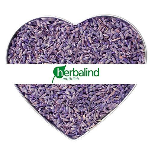 NATUR Premium Lavendel 200g Lavendelblüten getrocknet ohne Zusätze - Duftintensiv und naturbelassen, sonnen getrockneter Lavendel Blüten zum Füllen von Duftkissen, Duftsäckchen, Lavendelsäckchen