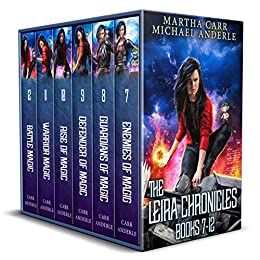 The Leira Chronicles Boxed Set #2: Books 7-12 (The Leira Chronicles Boxed Sets - Enhanced Edition) by [Martha Carr, Michael Anderle]
