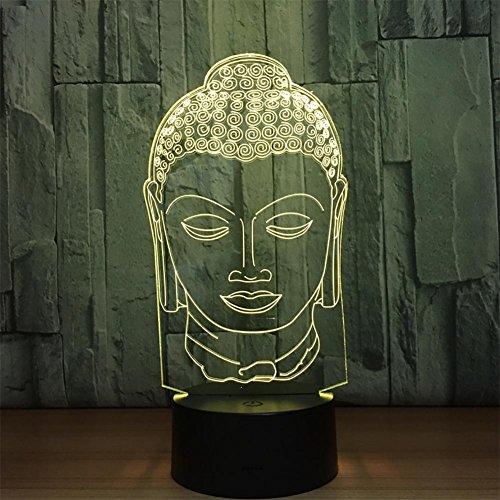 baby Q LED 3D Lampe, Lumières colorées de Gradient de Contact, lumières acryliques de Cadeau, lumières actionnées par USB
