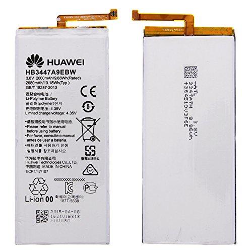 Original Huawei Ascend P8 Akku Batterie HB3447A9EBW Battery