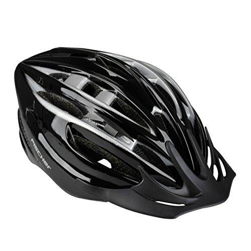 FISCHER Fahrradhelm Black Pearl Schwarz, L
