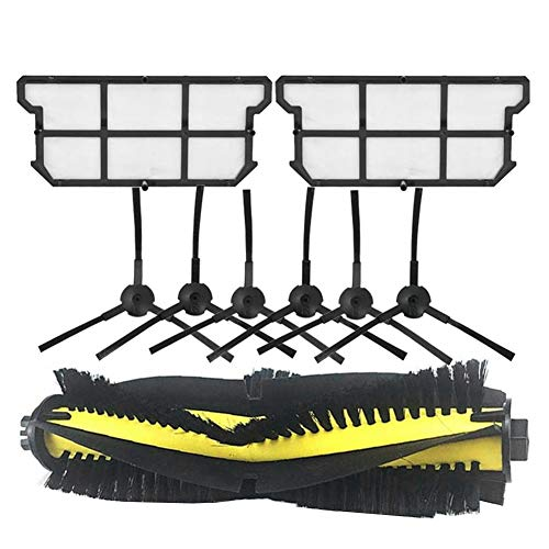 Mogzank Cepillo Principal Cepillo Lateral Filtro Hepa a Prueba de Polvo para V7 V7S V7S Pro Robot Aspirador Repuestos de Repuesto