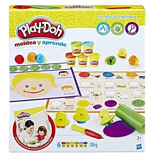 Play Doh Aprende Letras y lenguajes, Multicolor (Hasbro B3407105)