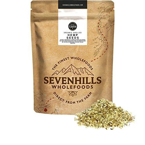 Sevenhills Wholefoods Graines De Chanvre Cru Décortiquées Bio 1kg