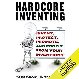 Hardcore Inventing audiobook cover art