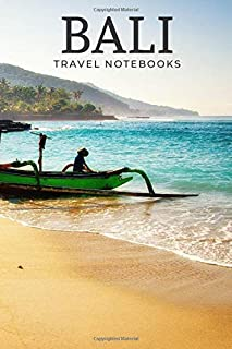 Bali: Travel Notebook, Journal, Diary (110 Lined Pages, 6 x 9)