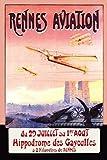 The Poster Corp F. Boursier – Rennes Aviation Kunstdruck