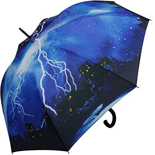iX-brella Regenschirm Thunderstorm - Stockschirm Automatik