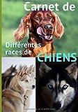 Carnet de différentes races de chiens: Ce carnet ou cahier de notes est fait pour toutes les personnes qui veulent faire un livre avec toutes les ... vos enfants, vos parents, vos collègues, ...