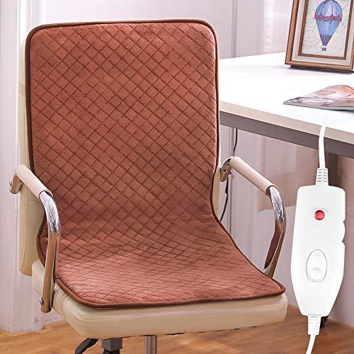 LOVE-CUSHION Büro Beheiztes Kissen,Multifunktionales Intelligentes Heizkissen Sitzkissen,Herausnehmbar und Waschbar,2 Geschwindigkeiten L-45 * 90cm