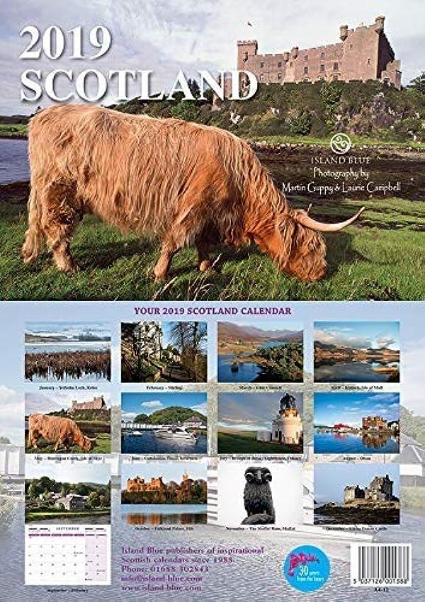 サロンラインナッププロペラScotland 2019 Landscape Calendar