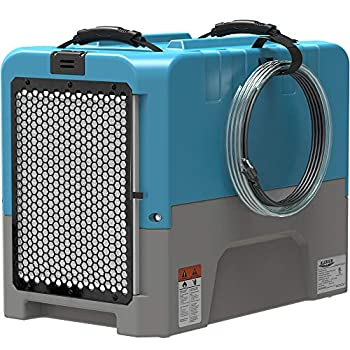 ALORAIR LGR Compact Dehumidifier auto Shut Off with Built-in Pump cETL Listed 5 Years Warranty up to 180 PPD  Saturation  Water Removal Per Day Blue