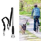 Correa de perro para bicicleta con manos libres, correa para bicicleta, correa para perros, correa para bicicleta, para entrenamiento
