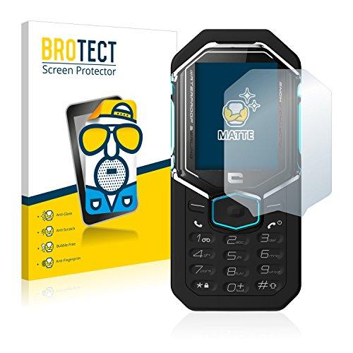 BROTECT 2X Entspiegelungs-Schutzfolie kompatibel mit Crosscall Shark X3 Bildschirmschutz-Folie Matt, Anti-Reflex, Anti-Fingerprint