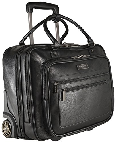 Kenneth Cole Reaction Wheeled Carry-On Tote, Black