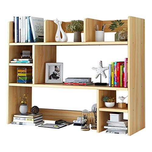 LXYStands Opbergrek voor aan de muur, schrijftafel, bureau, opbergruimte, tafel, planken, houten materiaal, boekenrek, levensmiddelwinkel rek, Sort Out